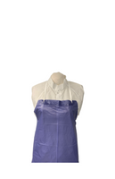 "PVC Aprons, Full Length, Sewn Edge, 35""x 50"", 6 mil By Cleanroom World"