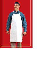 "Tyvek Aprons, Resists Chemicals, Waterproof, 28"" x 36"", 100/case  KS-AP-TVK1  by Cleanroom World"
