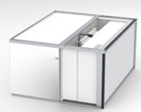"Table Top Inflow Air Stream Clean Bench with 11"" Acrylic Hood by Cleanroom World"
