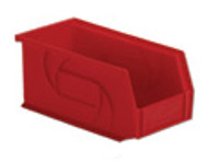 """Parts Bins, 10""""x5""""x5""""H, Red by Cleanroom World"""