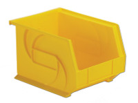 "Parts Bins, 10""x8""x7""H, Yellow by Cleanroom World"