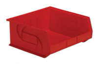 """Parts Bins, 14"""" x 16"""" x 7""""H, Red by Cleanroom World"""