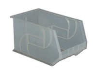 """Parts Bins, 18"""" x 11"""" x10""""H, Clear by Cleanroom World"""
