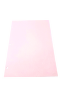 "Cleanroom Paper, 8.5"" x 11"", 3 Hole Punched, Pink by Cleanroom World"