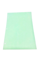 "Cleanroom Paper; 3 Hole Punched, 8.5""x11"", Green, 22.5# By Cleanroom World"