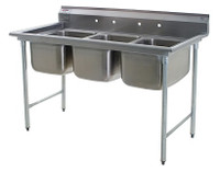 Three Compartment Sinks, Eagle by Cleanroom World
