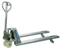 """Stainless Steel Pallet Trucks  27""""x 48"""" by Cleanroom World"""