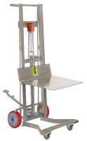 Stainless Steel Pedalifts, Hydraulic by Cleanroom World