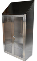 Stainless Steel Supply Cabinets by Cleanroom World