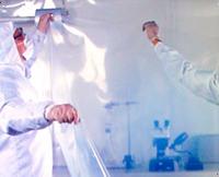 "Cleanroom Tubing, Clear Polyethylene, 4 mil, 48""x500'"