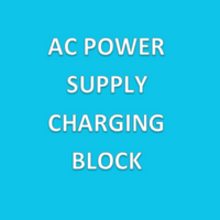 Power Supplies, AC Power Supply Charging Block By Cleanoom World