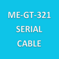 Cable Assemblies, Specific Serial Cable for ME-GT-321 Particle Counter By Cleanroom World