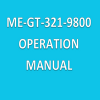 Operation Manuals for Particle Counters, ME-GT-321-9800 By Cleanroom World