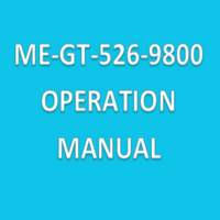 Operation Manuals for Met One Particle Counters,  ME-GT-526-9800 By Cleanroom World