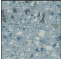 Cleanroom Flooring - CONDUCTIVE, SEAMLESS VINYL, INDUSTRIAL, ELECTRONIC BLUE, DA-SVF-ESD-483