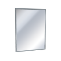 "Cleanroom Mirrors, Mitered Corners, 36"" x 72"" by Cleanroom World"
