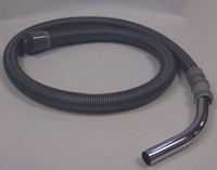 Cleanroom Vacuum Hoses, 6' Hose Assembly with Bent Wand, Replacement Part for Nilfisk Vacuums, NI-1402782500