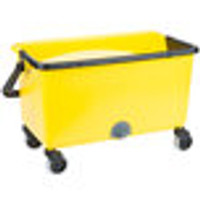 Plastic Yellow Mop Buckets by Cleanroom World