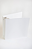 """Binder 2"""", 3 Ring, White, Closed by Cleanroom World"""