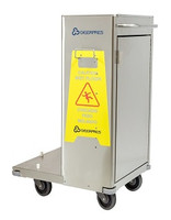 Stainless Steel Cleaning Carts by Cleanroom World
