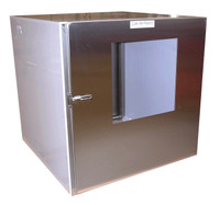 Polypropylene Pass Throughs 12x6x12 by Cleanroom World