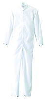Cleanrooom Coveralls, C-3 Fabric, Knit Cuffs, Launderable, White by Cleanroom World