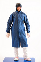 Cleanroom Frock, Maxima ESD Fabric, White by Cleanroom World