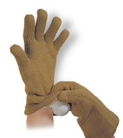 "Dry Contact Heat Resistant Gloves, 14""Long, Large, by Cleanroom World"