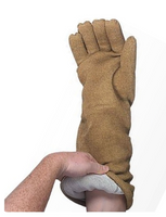 "Dry Contact Heat Resistant Gloves, 18""L, Large by Cleanroom World"