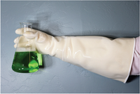 Mid Temperature Heat Resistant Gloves, 78F to 450F  by Cleanroom World