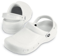 Cleanroom Crocs, White, Non-Marking, Odor-Resistant By Cleanroom World