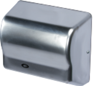 Hand Dryers; Cleanroom Compatible, Brushless Motor, Stainless Steel By Cleanroom World