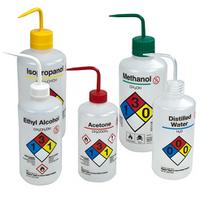 Nalgene Safety Bottles, Methanol by Cleanroom World