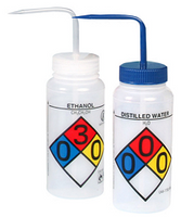 Wash Bottles, Sodium Hypochlorite by Cleanroom World