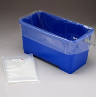 "Cleanroom Bucket Liners, 31""x 19"" by Cleanroom World"