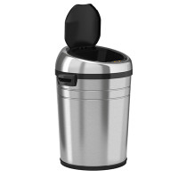 Sensor Operated Trash Receptacles, 18 Gallon by Cleanroom World