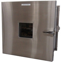 Lead Lined Pass Throughs, Stainless Steel by Cleanroom World