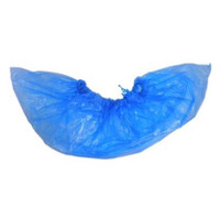Shoe Covers, Low Density Polyethylene Film, Disposable, Waterproof, Lint Free, Liquid Impervious  SI-7PLA-110CS  by Cleanroom World