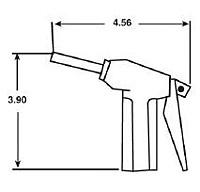 Liquid Dispensing Gun Assembly by Cleanroom World