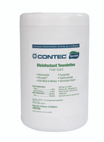 "Disinfectant Wipes, Deodorizes, 12"" X 9.5"", Canister  CO-JUM-8506F  by Cleanroom Worl"