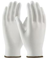 Nylon Gloves, Urethane Coated Fingertips, Medium, 12 pairs  PI-99-126-M  by Cleanroom World