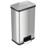 Trash Receptacles, 18 Gallon with Step Lid by Cleanroom World