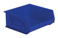 "Parts Bins, 14"" x 16"" x 7""H, Blue by Cleanroom World"