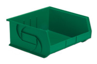 "Parts Bins, 14"" x 16"" x 7""H, Green by Cleanroom World"