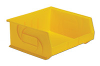 "Parts Bins, 14"" x 16"" x 7""H, Yellow  by Cleanroom World"