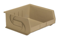"Parts Bins, 14"" x 16"" x 7""H, Stone by Cleanroom World"