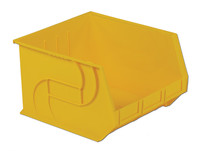"Parts Bins, 18"" x16"" x11""H, Yellow by Cleanroom World"