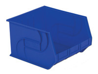 "Parts Bins, 18"" x 16"" x11""H, Blue by Cleanroom World"