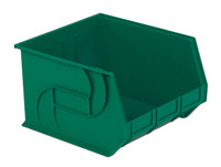 "Parts Bins, 18"" x 16 "" x 11""H, Green by Cleanroom World"