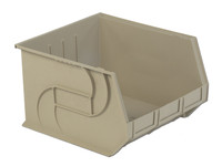 "Parts Bins, 18"" x 16"" x11""H, Stone by Cleanroom World"
